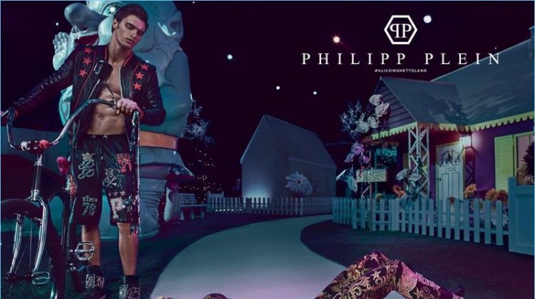 Matthew Terry Joins Fergie for Philipp Plein's Fantasy-Inspired Spring Campaign