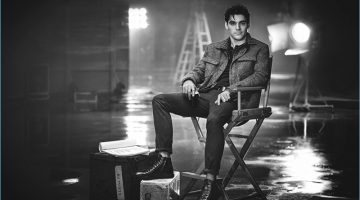 RJ Mitte Joins The Courageous Class, Stars in Kenneth Cole's Fall Campaign