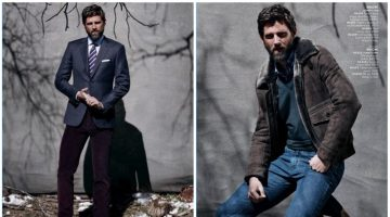 Well Composed: RJ Rogenski Models Sleek Brioni Fashions for Neiman Marcus