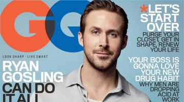 Ryan Gosling Covers GQ, Talks Drive to Act