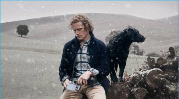 Sam Heughan Fronts Barbour's Rugged Holiday
