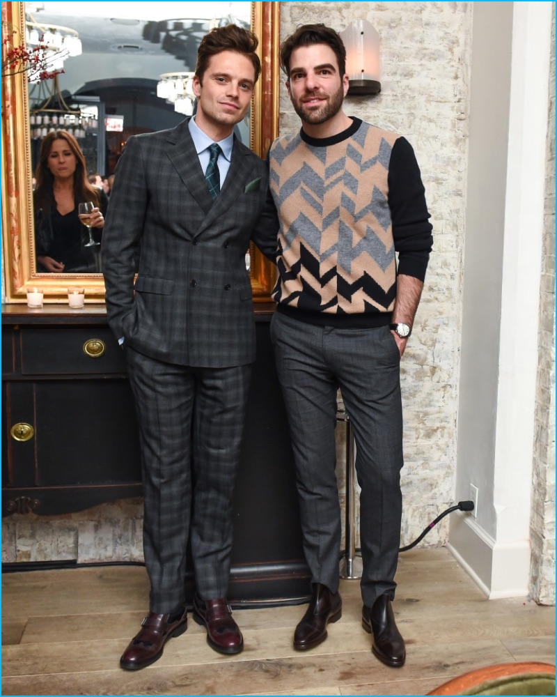 Actors Sebastian Stan and Zachary Quinto help Esquire celebrate its Style Mavericks of the Year.