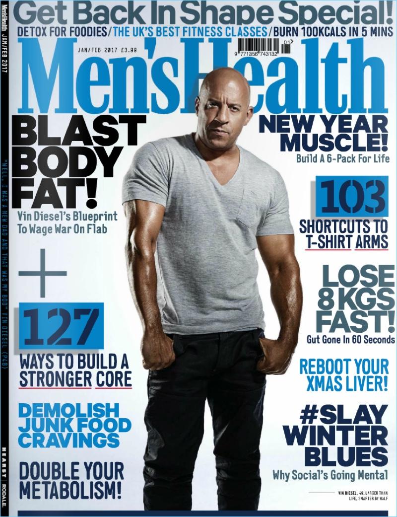 38179a8223e Vin Diesel Covers Men s Health UK