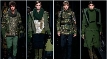 Balmain presents its fall-winter 2017 men's collection during Paris Fashion Week.