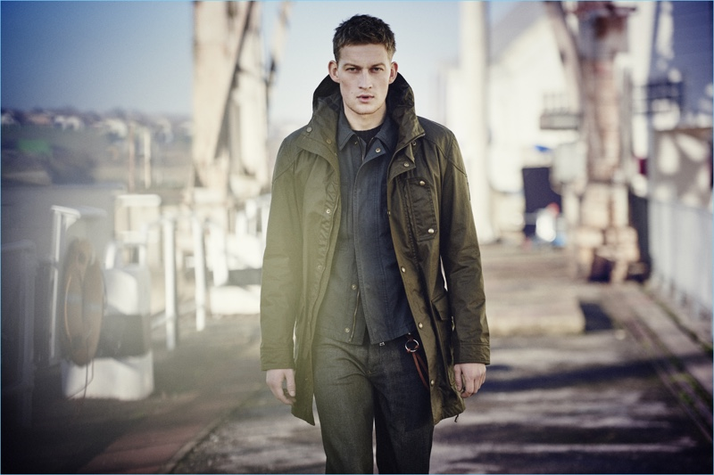 Belstaff turns out a number of must-have coats and jackets for fall-winter 2017.
