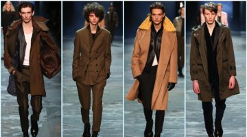 Berluti presents its fall-winter 2017 men's collection during Paris Fashion Week.