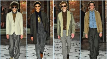 Billy Reid presents its fall-winter 2017 collection during New York Fashion Week: Men.