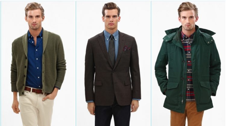 Brooks Brothers Rounds Up Smart Classics for Fall '17 Collections