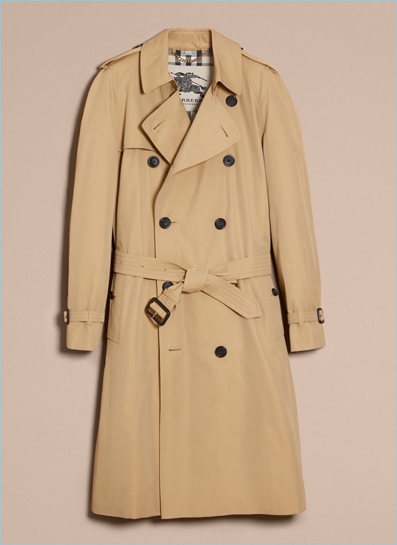 burberry trench coat product shot - Burberry Raincoat