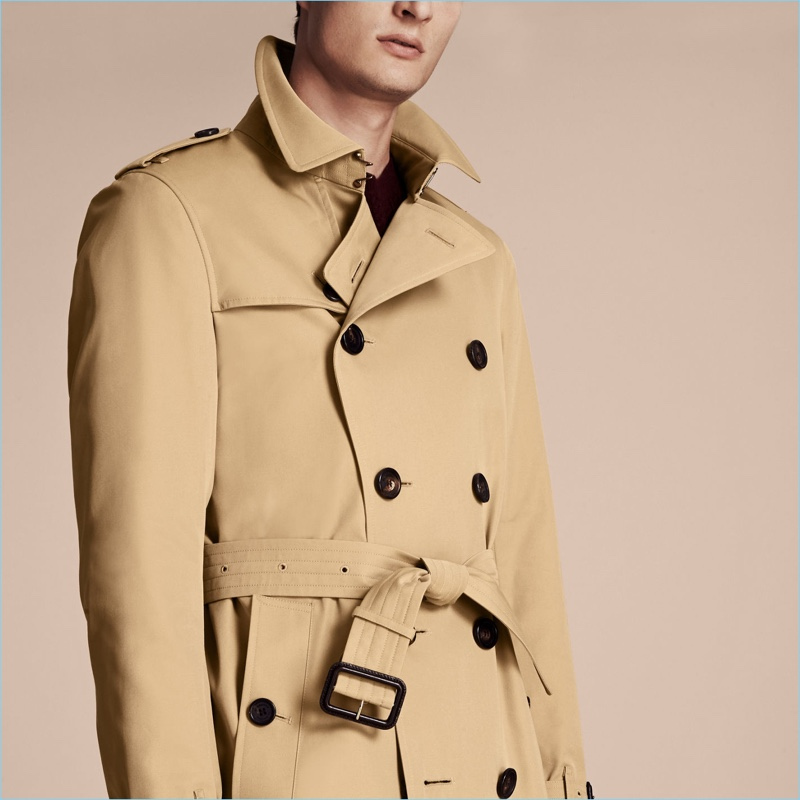 dae9cae7089c Burberry Men s Westminster Long Heritage Trench Coat
