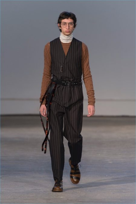 Damir Doma Distorts Traditional Staples for Fall '17 Collection