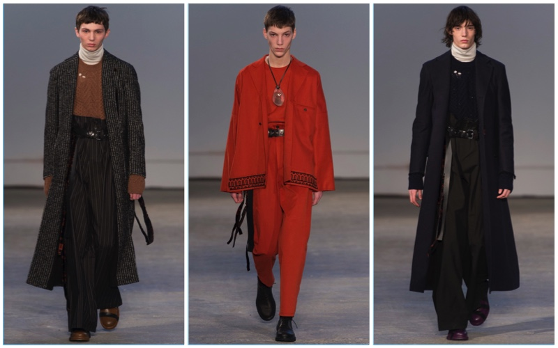 Damir Doma presents its fall-winter 2017 men's collection.