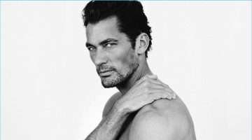 David Gandy Goes Nude for Mario Testino's Towel Series