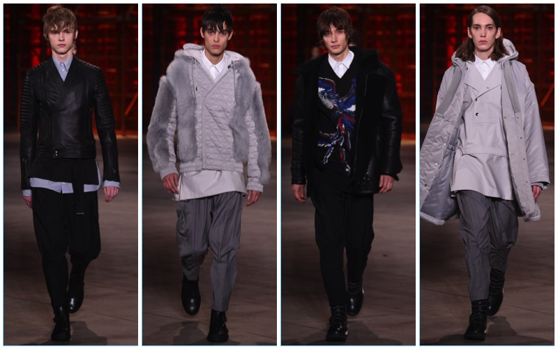 Diesel Black Gold presents its fall-winter 2017 men's collection during Milan Fashion Week.