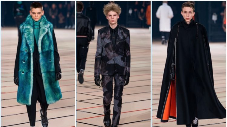 Dior Homme Interprets Sartorial Rave for Fall '17 Collection