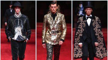 Dolce & Gabbana presents its spring 2017 Alta Sartoria collection.