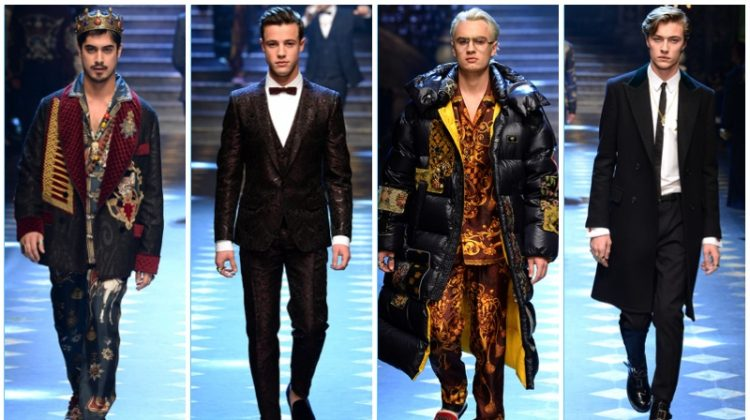 Dolce & Gabbana Crowns the Princes of Social Media