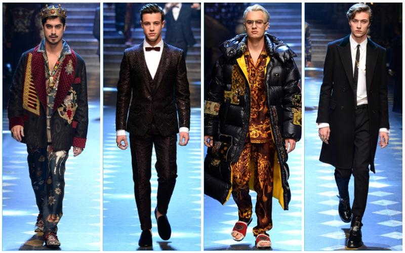 b2580097688e4 Dolce & Gabbana Fall/Winter 2017 Men's Collection | The Fashionisto