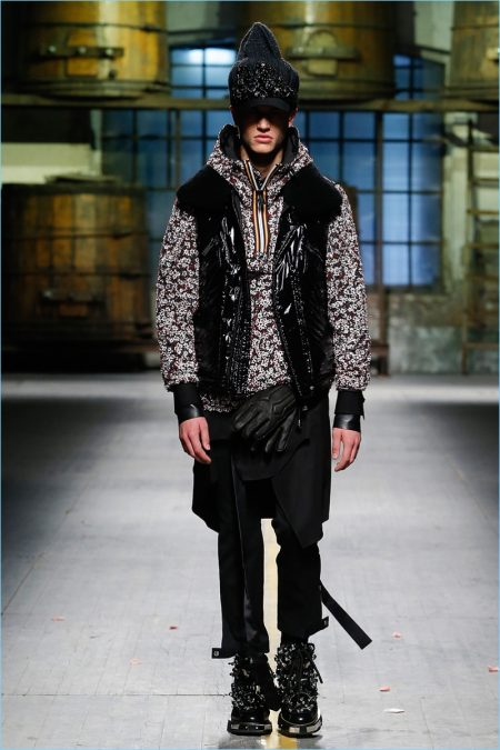 Dsquared2 Goes Rugged for Grunge Fall '17 Collection
