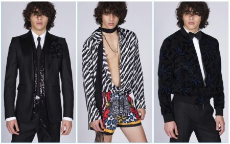 Take a Walk on the Wild Side with Dsquared2's Pre-Spring Collection