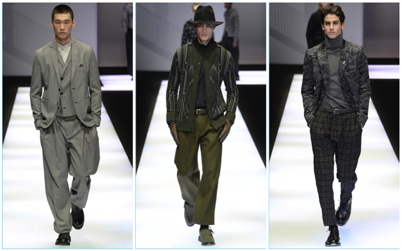 Emporio Armani Fall/Winter 2017 Men's Collection