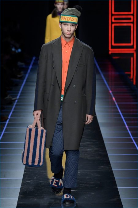 Fendi Fall/Winter 2017 Men's Collection