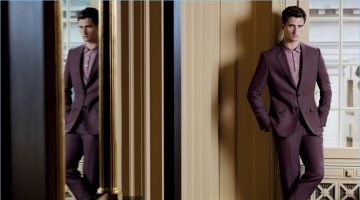 Tom Warren Dons Dashing Menswear for Gieves & Hawkes' Spring Campaign
