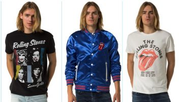 Hilfiger Denim celebrates The Rolling Stones with a men's capsule collection.