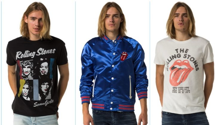 Shop the Collection: Hilfiger Denim Rolls with The Rolling Stones