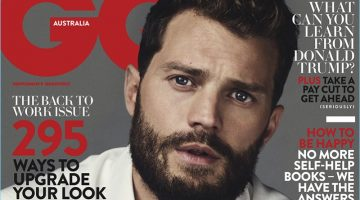 Jamie Dornan Covers GQ Australia, Reflects on 'Fifty Shades of Grey'