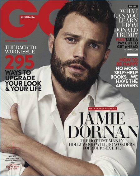 Jamie Dornan Covers GQ Australia, Reflects on 'Fifty Shades of Grey'