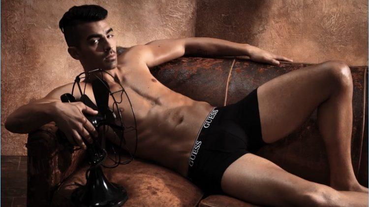 Watch Joe Jonas' GUESS Underwear Campaign Shoot