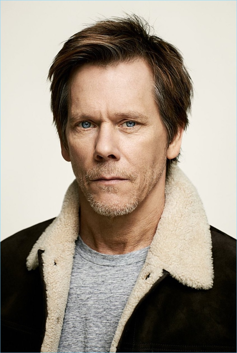 Kevin Bacon Goes Casual with Mr Porter Discusses Patriots Day