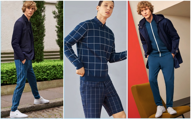 Lacoste presents its key spring-summer 2017 men's styles.