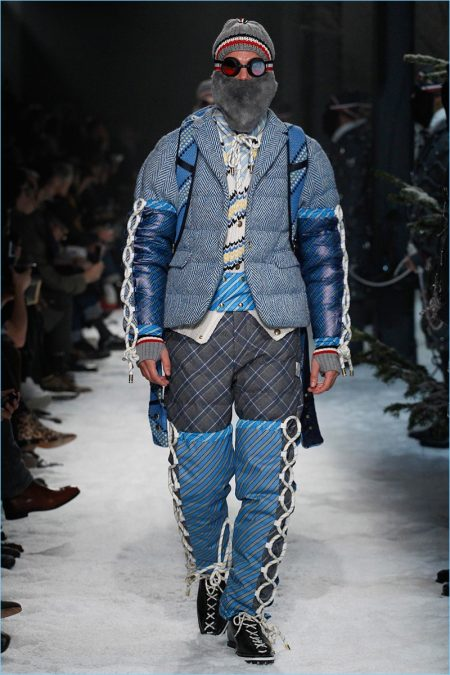 Moncler Gamme Bleu Sets Sights on Eccentric Mountain Trek for Fall '17 Collection