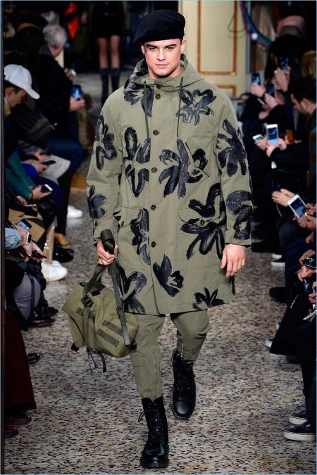 Moschino Does Combat Style for Fall '17 Collection