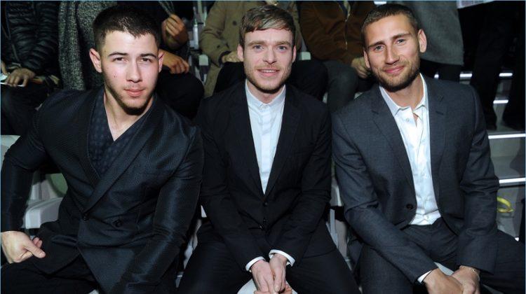Nick Jonas, Richard Madden + More Join Emporio Armani for Milan Fashion Week