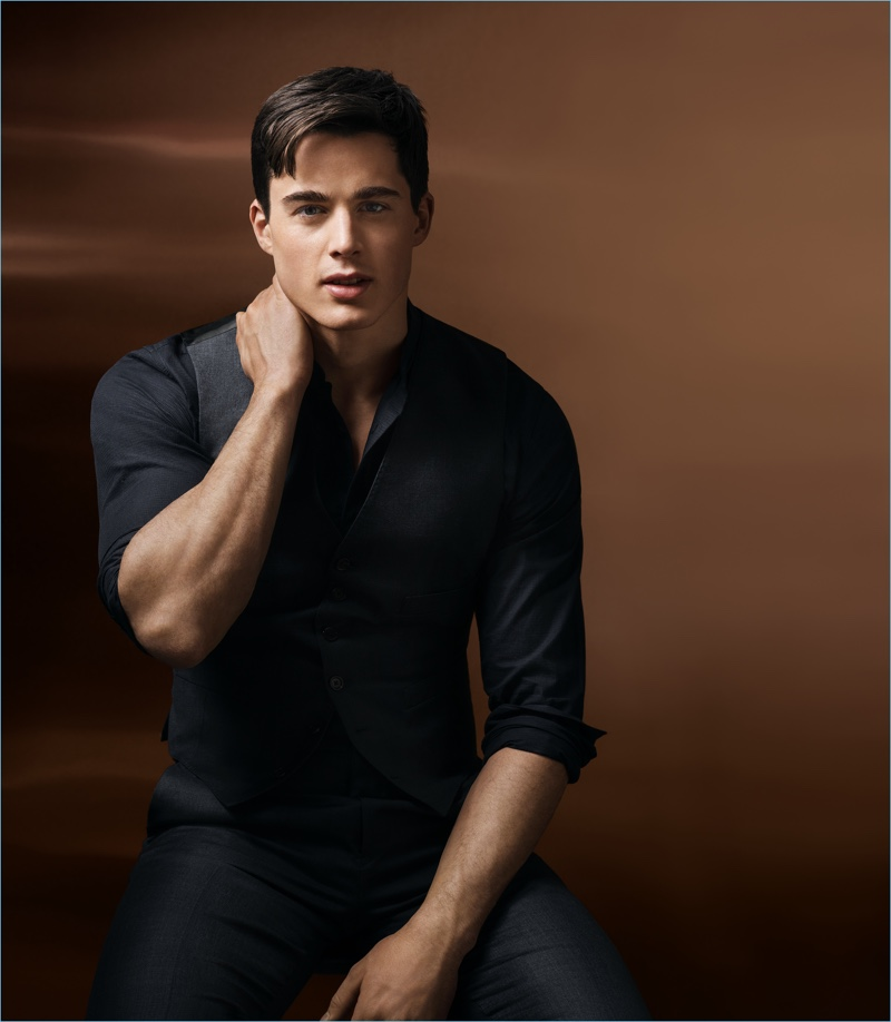 Pietro Boselli fronts a new campaign for Lab Series' MAX LS Maxellence Launch.