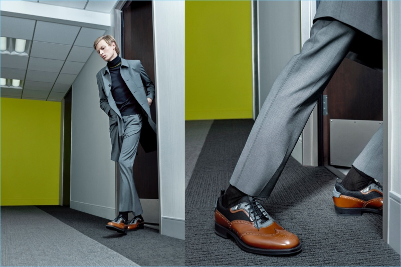 Preview: Jude Law Joins Models for Prada's Spring Campaign