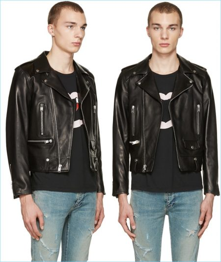Fashionisto Essential: Saint Laurent Leather Biker Jacket