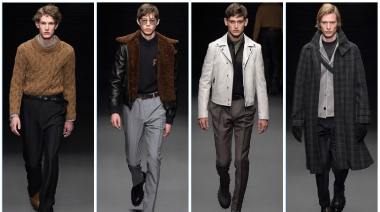 Guillaume Meilland Makes Salvatore Ferragamo Debut with Fall '17 Collection