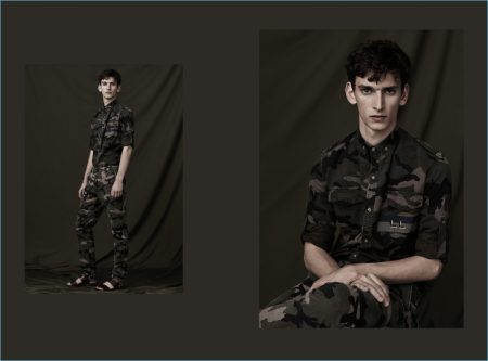 ID Camouflage: Valentino Goes Graphic for Spring