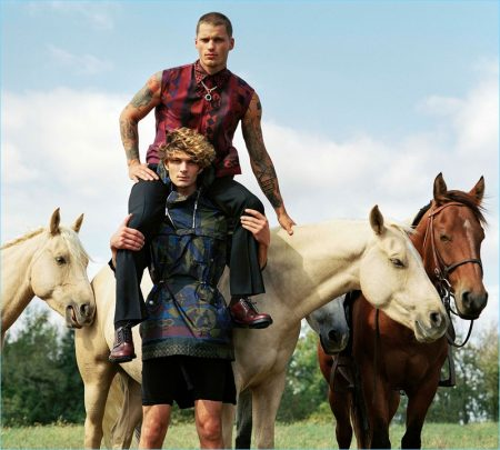 Versace Takes to Kentucky for Spring Campaign