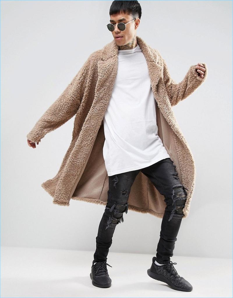 Asos Men S Oversized Longline Duster The Fashionisto