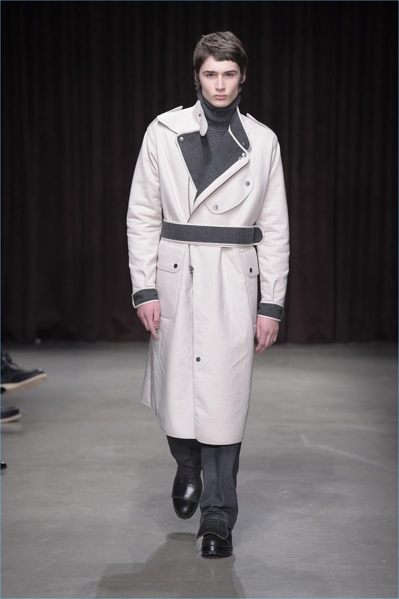 BOSS Hugo Boss approaches outerwear with a flair for modern adventure.