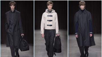 BOSS Hugo Boss presents its fall-winter 2017 collection during New York Fashion Week: Men.