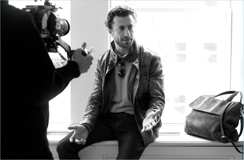 Behind the Scenes: Francesco Carrozzini shoots his campaign for Tod's.