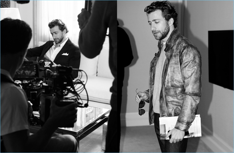 Tod's unveils a behind the scenes picture of its campaign shoot with Francesco Carrozzini.