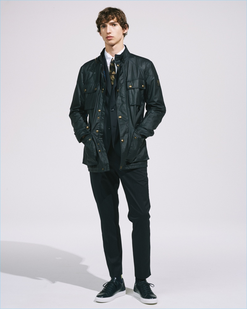 Belstaff collaborates with SOPHNET on a spring-summer 2017 capsule collection.