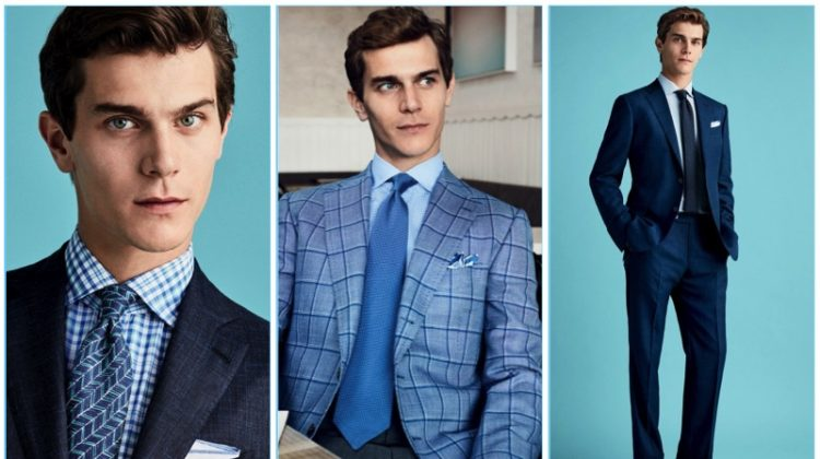 Easy Does It: Vincent LaCrocq Sports Spring Tailoring for Bergdorf Goodman